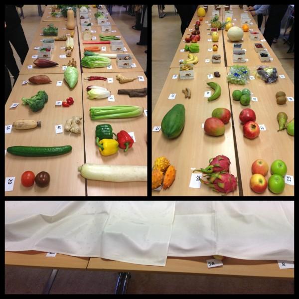 Näringslära – grönsaker och frukter